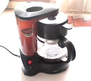 コーヒーメーカーは必須
